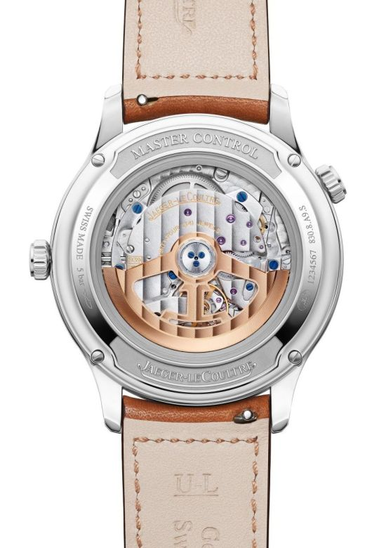 Jaeger-LeCoultre Master Control Geographic caseback view