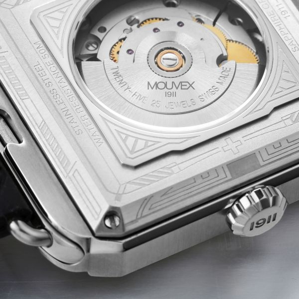 Mouvex 1911 Art Deco swiss made automatic watches