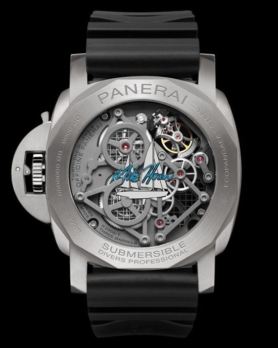 Panerai EcoPangaeaTM Tourbillon GMT - 50 mm Mike Horn Edition (PAM01108)