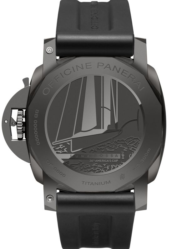 Panerai Luminor Luna Rossa GMT 44 MM (PAM01036)