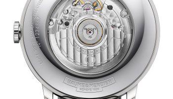 Baume & Mercier Classima Dual Time case back