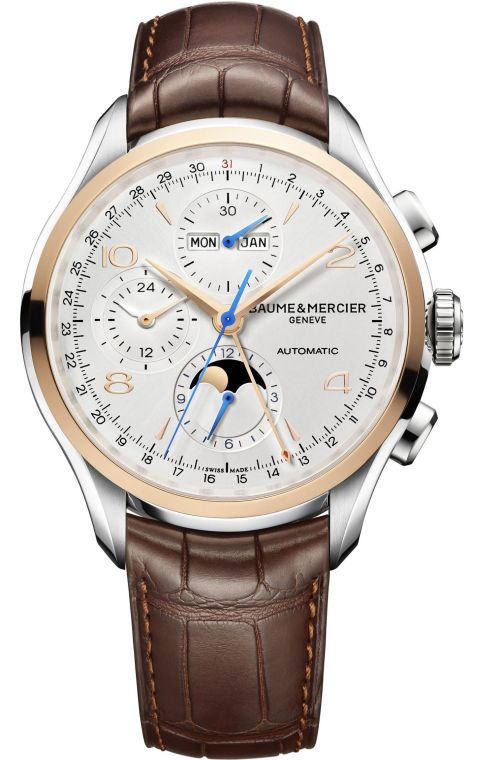 Baume & Mercier Clifton Chronograph Complete Calendar Reference M0A10280