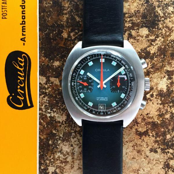 Circula vintage chronograph watch, circa 1970s