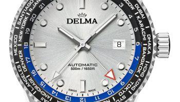 Delma Cayman Worldtimer automatic watch