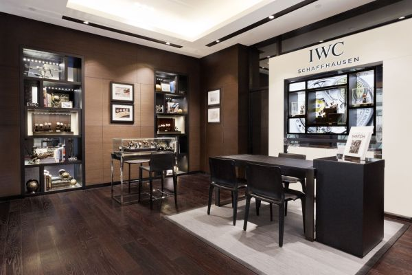 IWC Boutique ifc mall, Central, Hong Kong