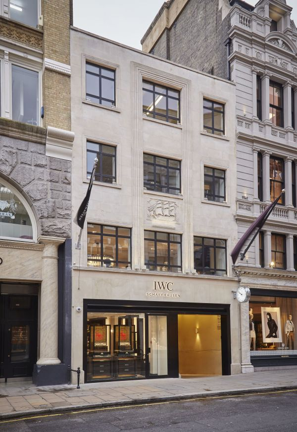 IWC Schaffhausen Boutique London, 138 New Bond Street, London'