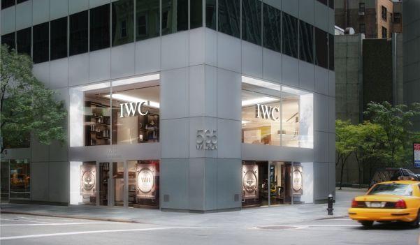 IWC Flagship Boutique New York City: facade (PHOTOPRESS/IWC)