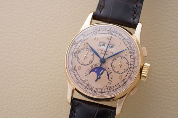 Patek Philippe Reference 1518 in pink gold, circa 1948