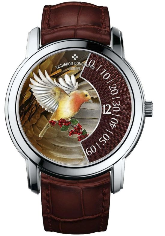 "Vacheron Constantin ""La Musique du Temps®"" Les Cabinotiers - the singing birds -Robin, Reference 2010C/000G-B684"