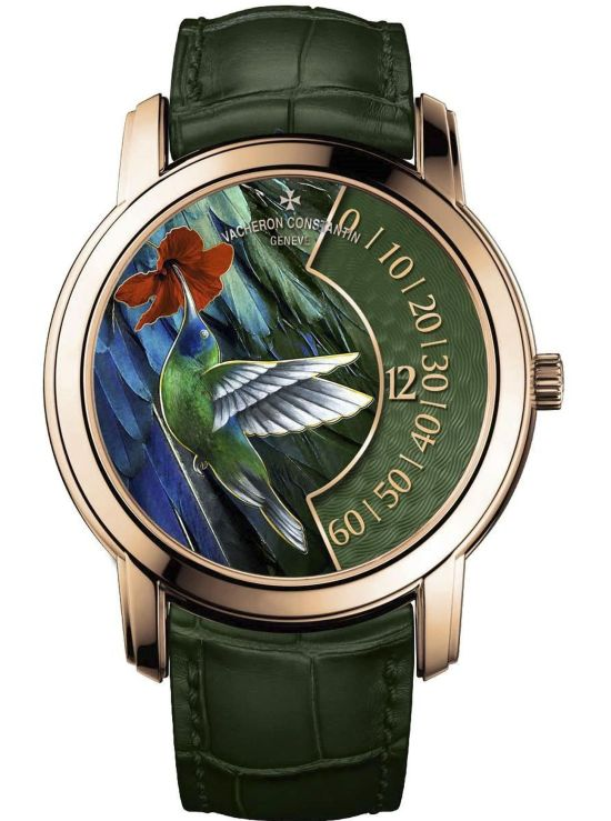 "Vacheron Constantin ""La Musique du Temps®"" Les Cabinotiers - the singing birds - Hummingbird, Reference 2010C/000R-B681"