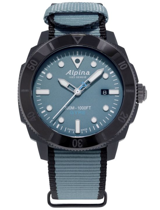 Alpina Seastrong Diver Gyre Gents Automatic, Reference AL-525LNB4VG6BLK