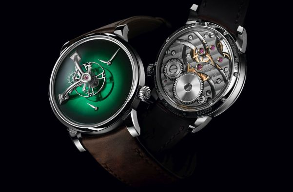 LM101 H. Moser X MB&F Limited Edition with Cosmic Green fume dial