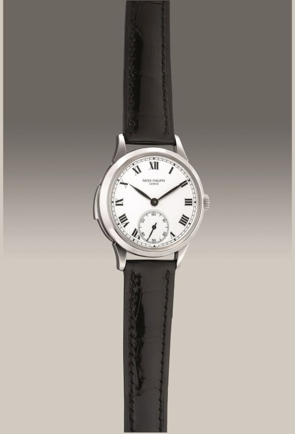 Patek Philippe Reference 3979 from 1996, platinum minute repeating wristwatch with enamel dial. Estimate: HKD 2,900,000-4,000,000