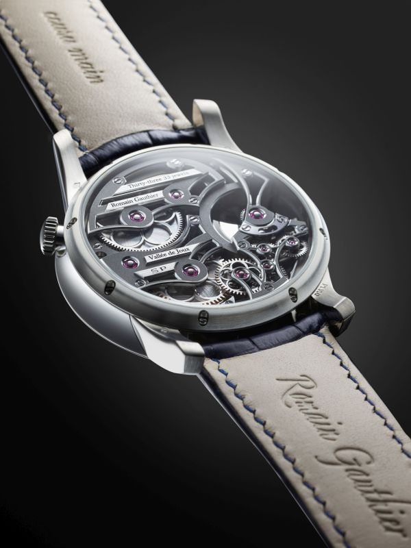 Romain Gauthier Insight Micro-Rotor Squelette Limited Edition