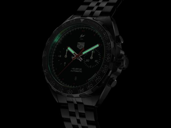 TAG Heuer x Fragment Design Heuer 02 Chronograph Limited Edition - Designed by Hiroshi Fujiwara