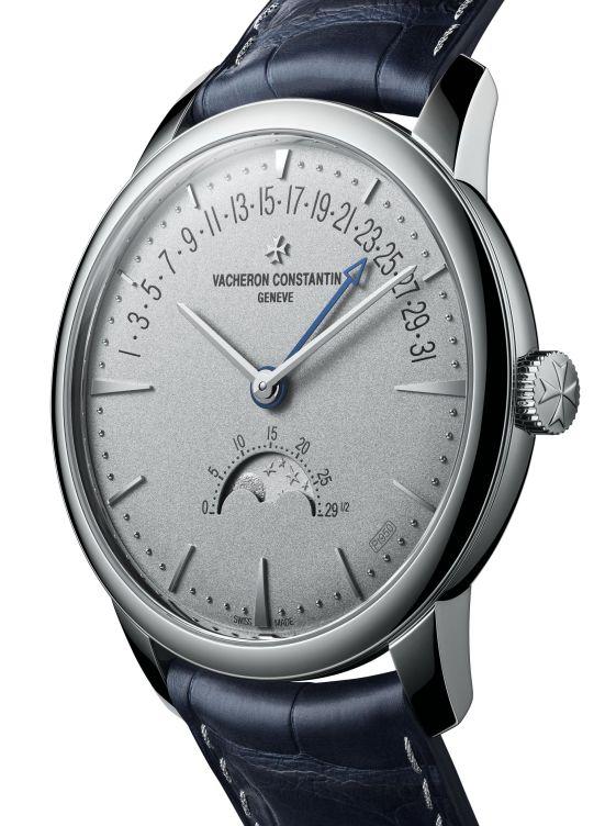 Vacheron Constantin Patrimony Moon Phase Retrograde Date, Collection Excellence Platine