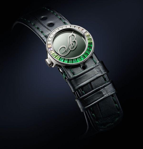 Breguet Marine Haute Joaillerie 9509 Poseidonia emerald