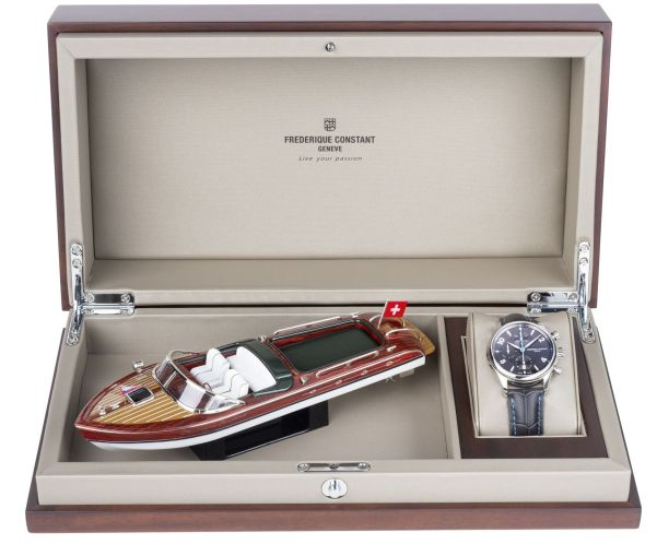 Frederique Constant Runabout RHS Chronograph Automatic Limited Edition gift box