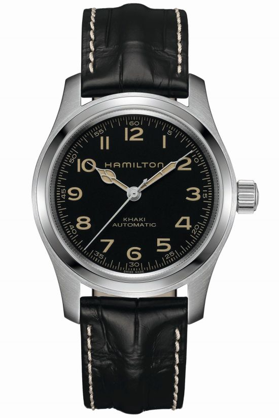 Hamilton Khaki Field Murph Automatic watch - Reproduction of the Murphy Cooper's watch of the Interstellar movie