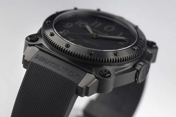 Hamilton Khaki Navy BeLOWZERO New Model with Titanium Black PVD Case