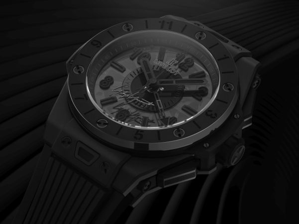 Hublot Big Bang GMT All Black Yohji Yamamoto Limited Edition