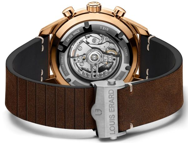Louis Erard La Sportive New Limited Edition Chronographs in Titanium or Bronze