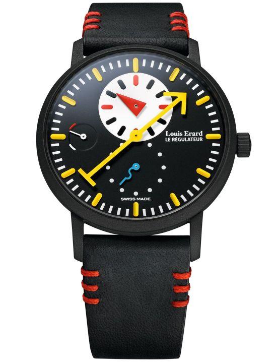 Louis Erard Limited Edition Regulator Watch Designed by Alain Silberstein (The First Collaboration between Louis Erard and Alain Silberstein)