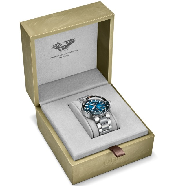 Oris Carysfort Reef Limited Edition (In Stainless Steel)