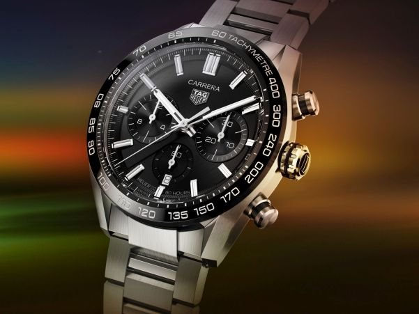 TAG Heuer Carrera Sport Chronograph 44mm (With enhanced design features and an in-house movement with 80 hours powers reserve)