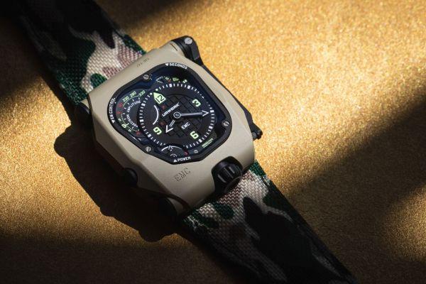 URWERK EMC Time Hunter Desert Sage