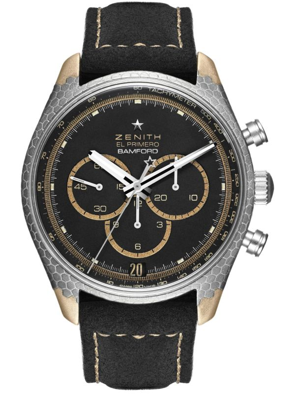 Bamford Watch Department X Black Badger Zenith El Primero Superconductor Limited Edition