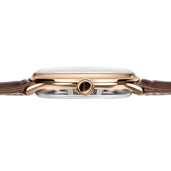 Bernhard Lederer Central Impulse Chronometer rose gold case