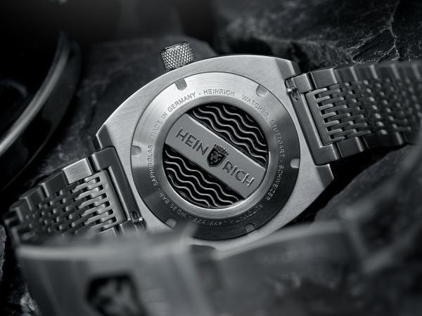 HEINRICH Taucher automatic diving watch