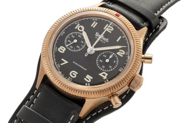 Hanhart x The Rake & Revolution Limited Edition Bronze 417 Chronograph