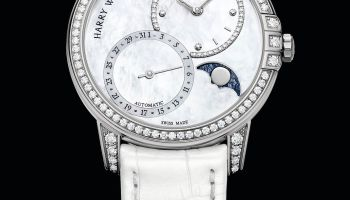 Harry Winston Midnight Date Moon Phase Automatic 36mm