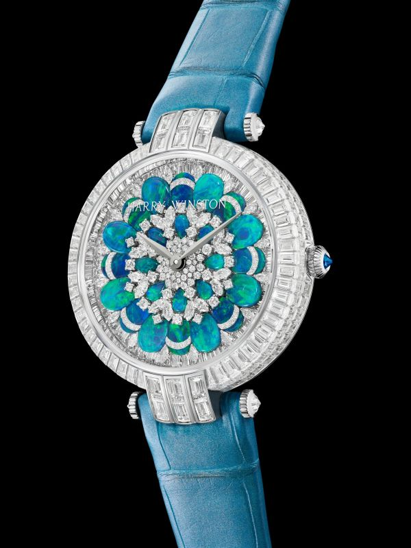 Harry Winston Premier Hypnotic Chrysanthemum Automatic 36mm