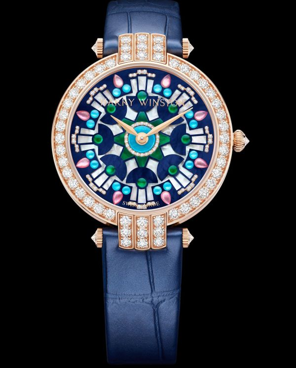 Harry Winston Premier Kaleidoscope Automatic 36mm Dark blue version