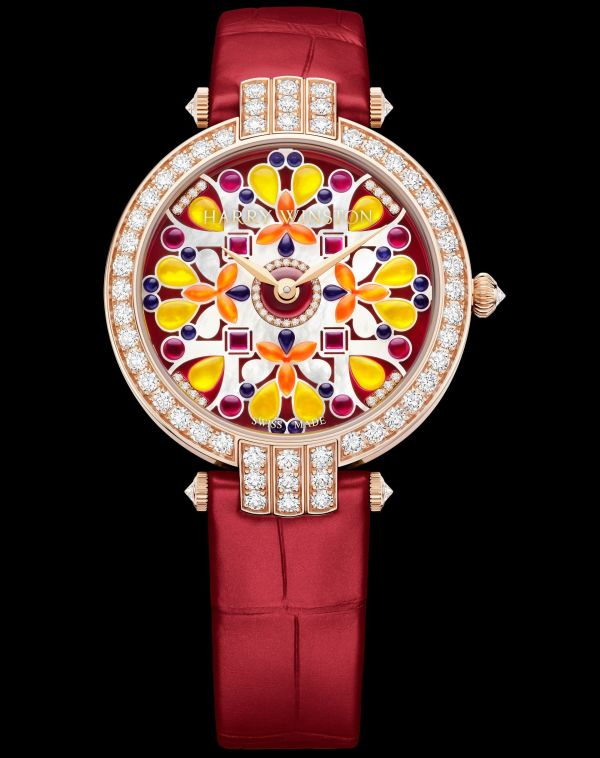 Harry Winston Premier Kaleidoscope Automatic 36mm Red version