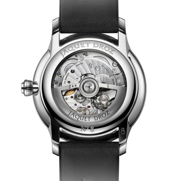 Jaquet Droz J007020349_GRANDE SECONDE QUANTIEME MATTE BLACK watch caseback view