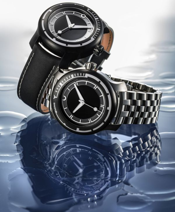 MING 18.01 H41 automatic diving watch 1000 meters water resistance