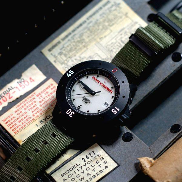 PAR WEBER Coefficient: The Wristwatch with Enduro-Lume Illumination System