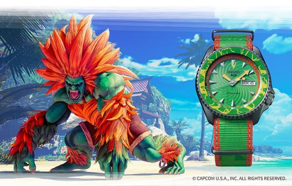 Seiko 5 Sports STREET FIGHTER V BLANKA (SRPF23)