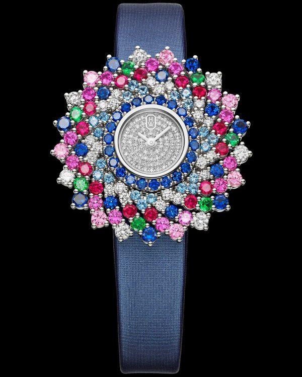 Winston Kaleidoscope High Jewelry Watch by Harry Winston HJTQHM36PP004