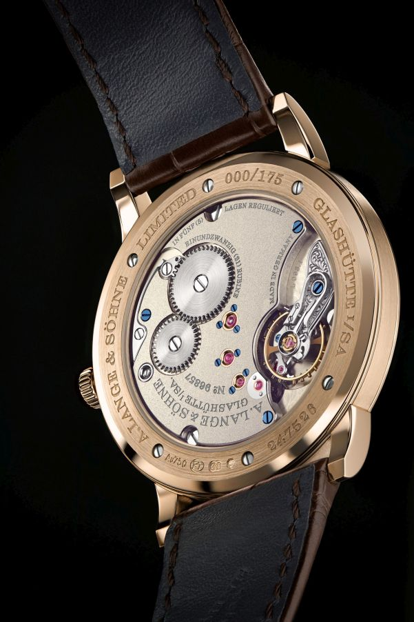"""A. Lange & Söhne """"Homage to F. A. Lange"""" Special Edition Honey Gold Series: the 1815 THIN HONEYGOLD"""