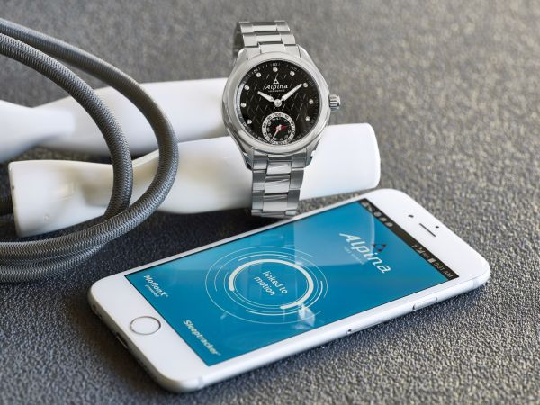 Alpina Horological Smartwatch, Reference AL-285BTD3C6B
