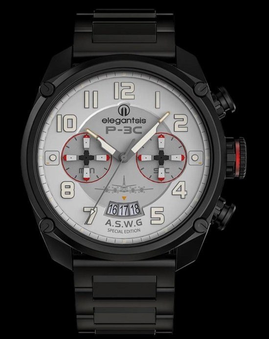 ELEGANTSIS P3C A.S.W.G Chronograph: Republic of China Airforce Anti-Submarine Warfare Group Special Edition