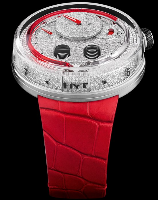 HYT H0 Diamonds Red Fluid (Ref. 048-AC-86-RF-CR)