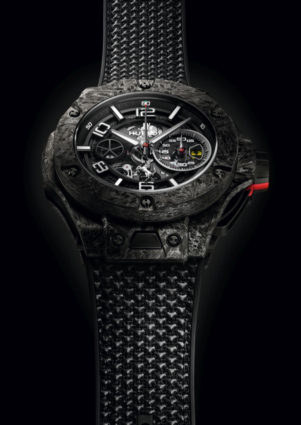 Hublot Big Bang Ferrari 1000 GP Limited Editions in Carbon Ceramic (Reference 402.QC.0112.NR)