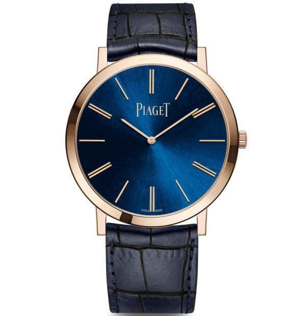 Piaget New Altiplano Limited Editions with Blue Dial rose gold case