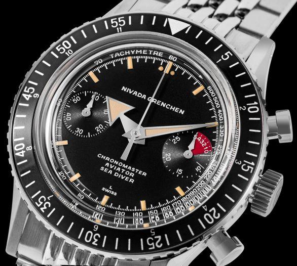 Nivada Grenchen - Chronomaster Aviator Sea Diver